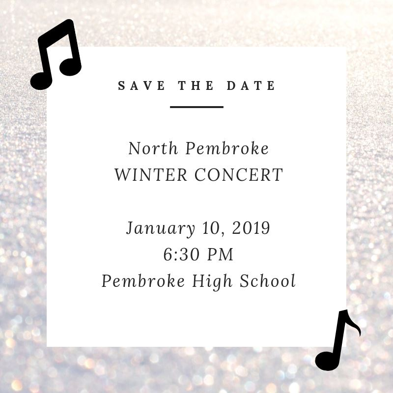 North Winter Concert- January 10, 2019