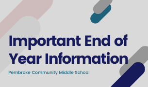 End of Year Update from PCMS