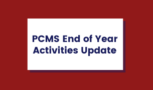 PCMS End of the Year Activities