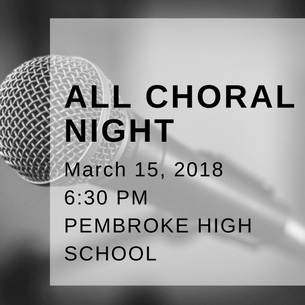 All Choral Night is March 15, 2017