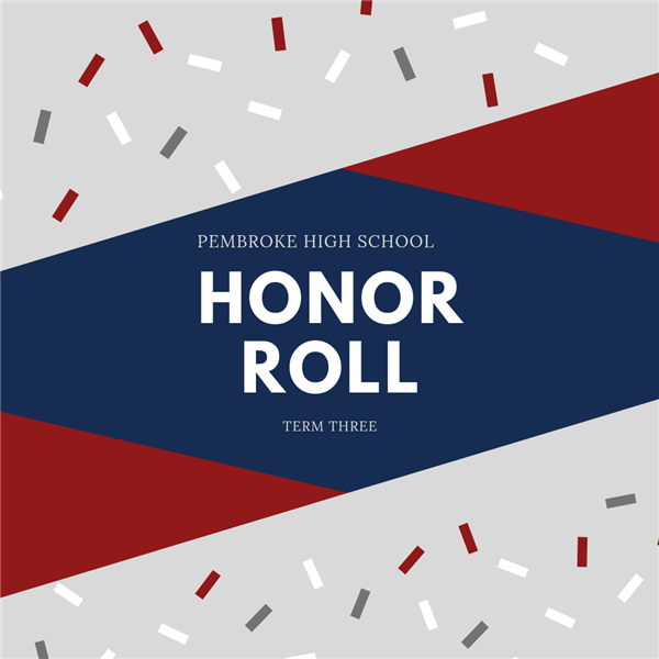 Honor Roll Term 3