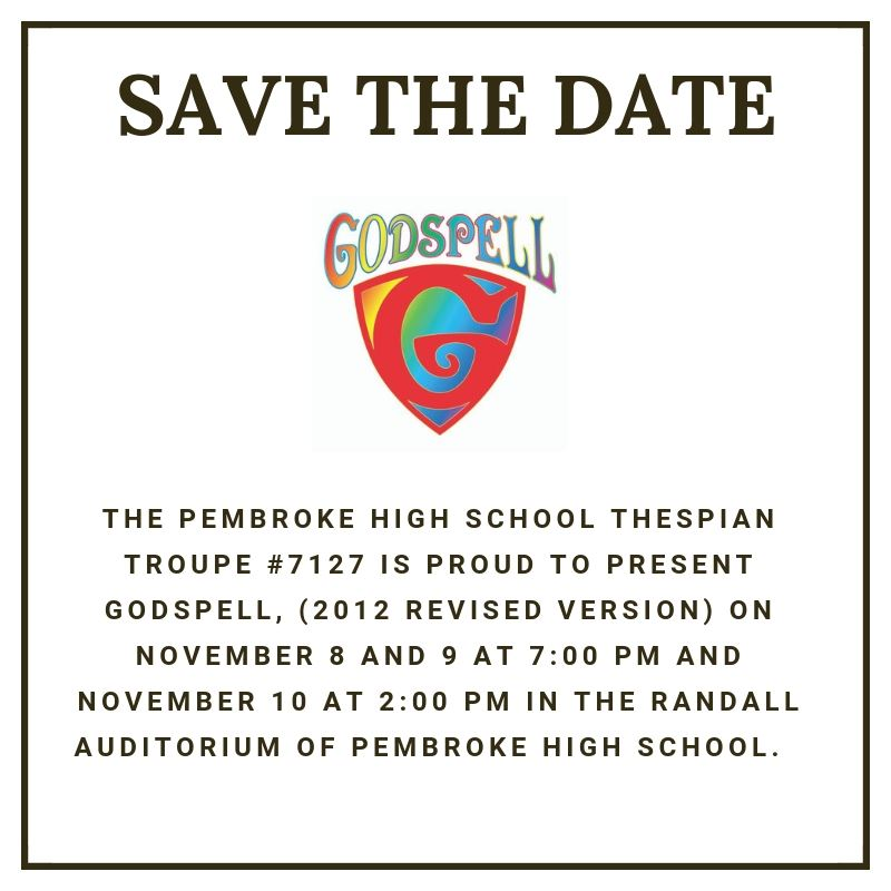 Godpell Save the Date