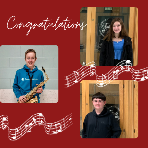 THREE PEMBROKE HIGH SCHOOL STUDENTS HAVE BEEN ACCEPTED TO THE SOUTHEASTERN JUNIOR DISTRICT VIRTUAL