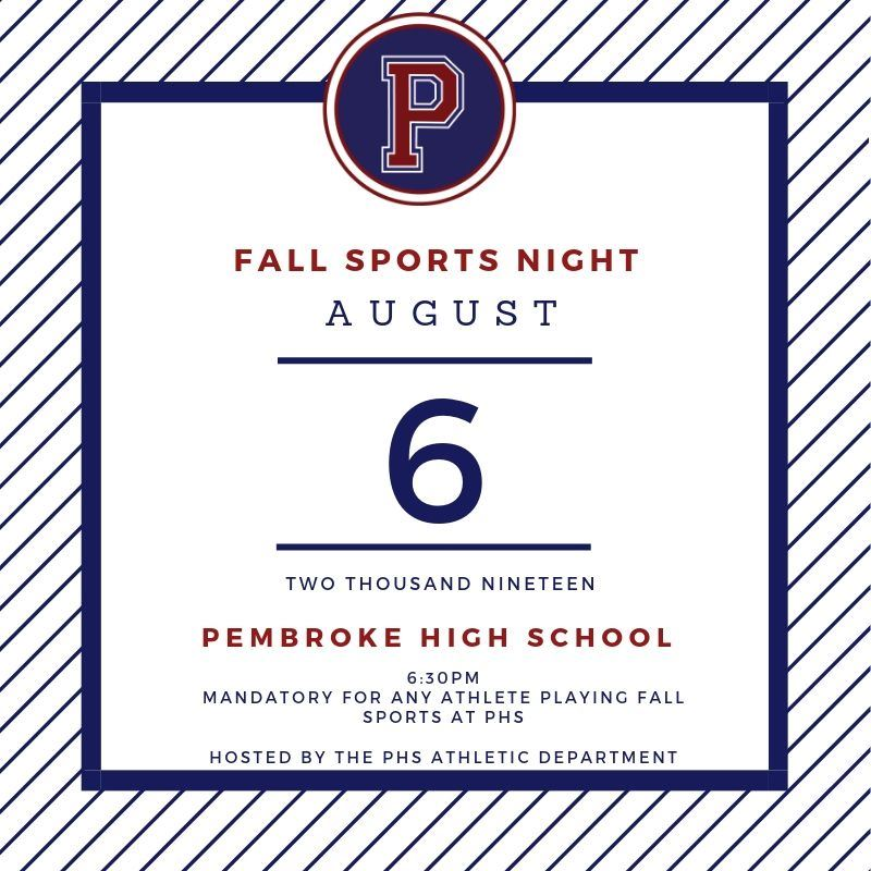 Fall Sports Information Night