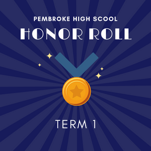 PHS Honor Roll Graphic