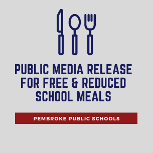 Public Media Release for Free & Reduced School Meals