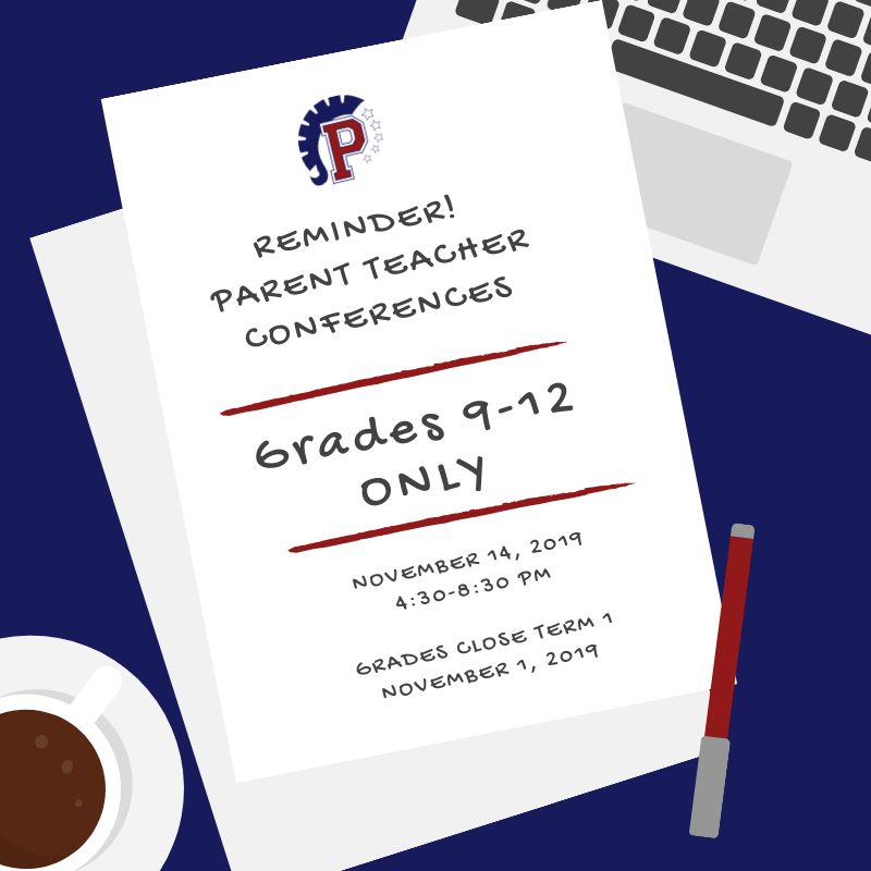 9-12 Parent Teacher Conferences