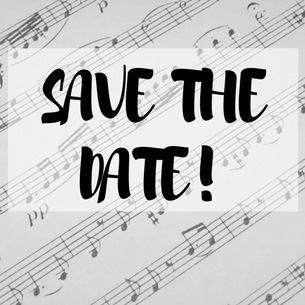 Winter concert save the date